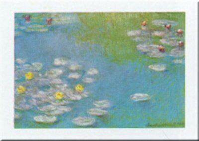 Nymphaeas Waterlilies 1908 by Claude Monet 20x16 Museum Art Print Poster