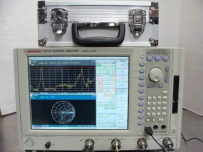 Advantest R3770 4-Port 300kHz - 20GHz Vector Network Analyzer VNA + R17052A Cal