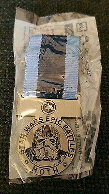 Star Wars Epic Battle Hoth Medal #1 of 4  Orden Medaille