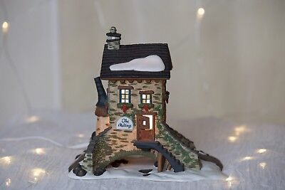Dept 56 Dickens Village THE MALTINGS Snow Christmas holiday vintage porcelain