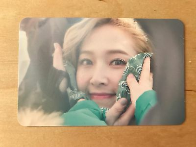 SNSD Jessica - Wonderland 2nd mini album photocard, kpop