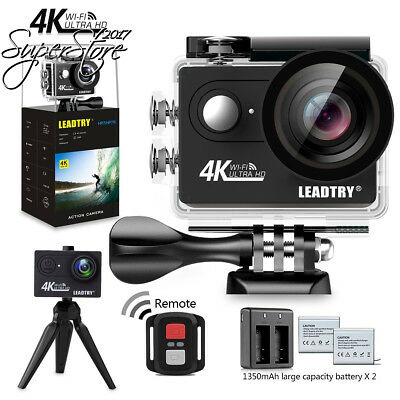 LeadTry HP7R Full 4K HD Action Camera Wifi, Mini 12MP Underwater Photography...