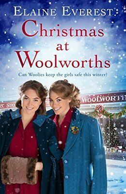 Christmas at Woolworths by Elaine Everest New Paperback Book