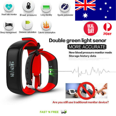 Smart Band sports fitness Blood Pressure Sleep Heart Step calorie count Monitor