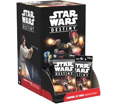 Empire at War Star Wars Destiny Booster Box Factory Sealed Box