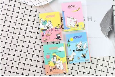 Moomin 4 Fold Memo / Writing Pad / Paper / Note / Sticky Pad