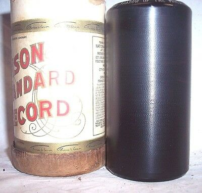 1 Very Nice Playing 2 Minute Edison Phonograph Cylinder Record , Buy As Many As