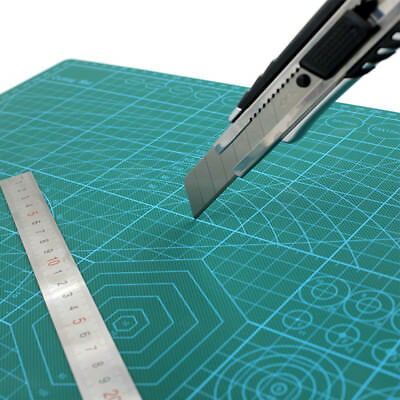 A2 A3 PVC Self Healing Cutting Mat Craft Quilting Grid Lines Printed Board