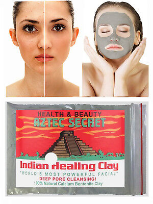 AZTEC SECRET INDIAN HEALING CLAY Worlds Most Powerful Facial Deep Pore Cleanse