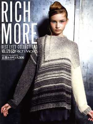 RICH MORE Best Eye's Collections Vol 129 - Japanese Craft Book SP2