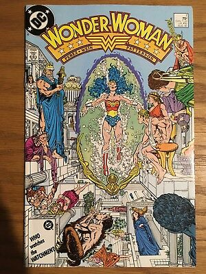 Wonder Woman # 7 (1987) 1st First Barbara Minerva Cheetah