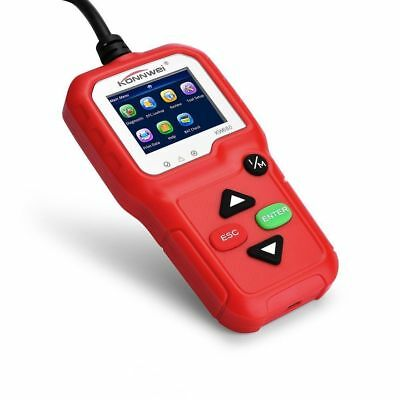 KW680 OBDII OBD2 EOBD Car Code Reader Vehicle Diagnostic Scan Tool Scanner Red T
