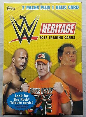 WWE 2015 Topps WWE Wrestling Road To Wrestlemania Blaster Box OVP