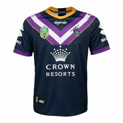 Melbourne Storm NRL 2018 Home ISC Jersey Adults, Ladies, Kids & Toddler In Stock