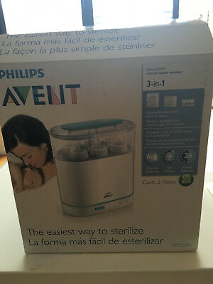 Used Philips Avent 3 in 1 Electric Steam Steriliser works well