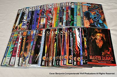 Shadowman Complete Lot of Series 1 & 2 Valiant/Acclaim Lot Of 72 Issues!  MORE!