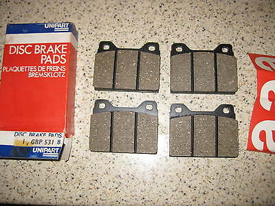 Mercedes Coupe C204 AMG Sport Plus 2.2 D ATE Rear Brake Pad Set Teves ATE System