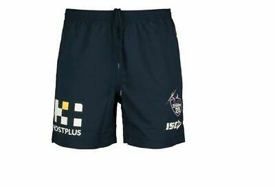 Melbourne Storm NRL 2018 ISC Players Training Shorts Size 4XL & Kids! In Stock
