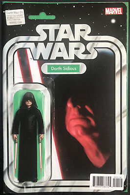 Marvel Star Wars Darth Maul #1 Darth Sidious Figure Jtc Exclusive Variant Cover
