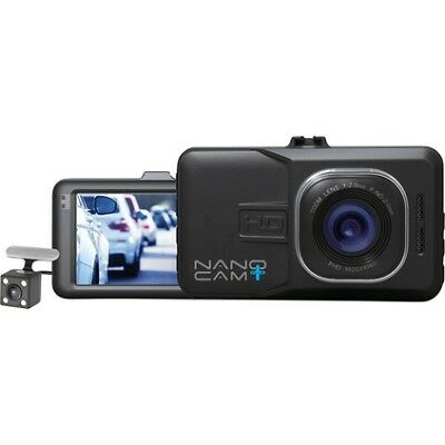 NanoCam Plus Front & Rear Dash Cam with Reversing Camera NCP-DVRT1