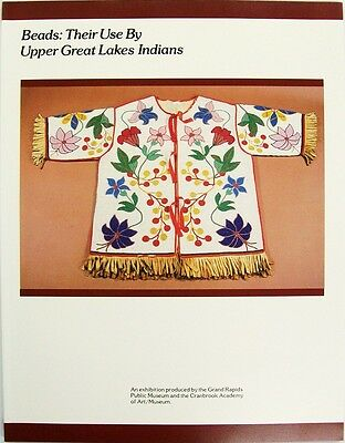 Beads Their Use By Upper Great Lakes Indians  Book Antique Trade Beads