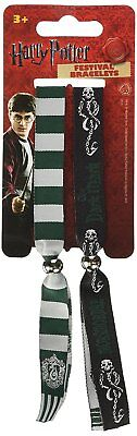 Harry Potter Slytherin Double Festival Wristband Set