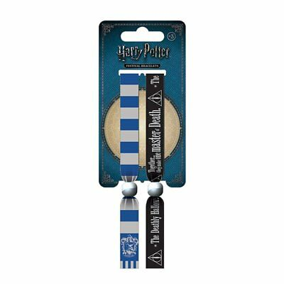 Harry Potter Ravenclaw Pack of 2 Festival Wrist Bands