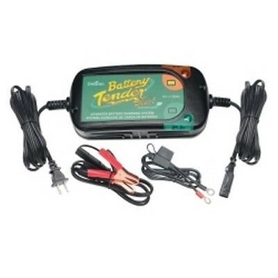Battery Tender 022-0185G-DL-WH Plus High Efficiency Battery Charger & Maintainer