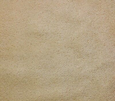 French Chenille Velvet Ecru Natural Upholstery Multi Use Fabric By The Yard