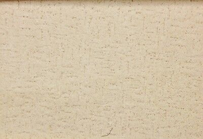 "French Chinchilla Velvet Velour Ecru Natural Upholstery Fabric By The Yard 50""w"