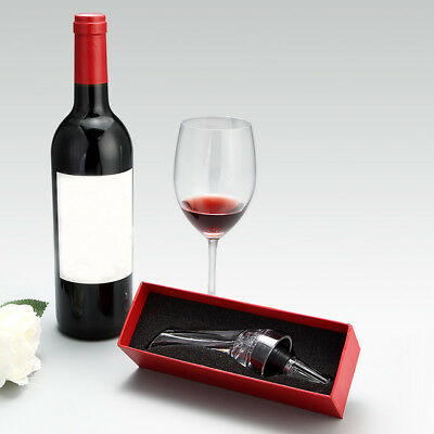 Acrylic Red Wine Aerator Aerating Pourer Wine Bottle Pour Spout Stopper #BD