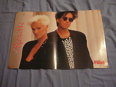 ROXETTE PIN UP POSTER PHOTO AFFICHE 11 x 16 CLIPPING MARIE FREDRIKSSON PER GESSI
