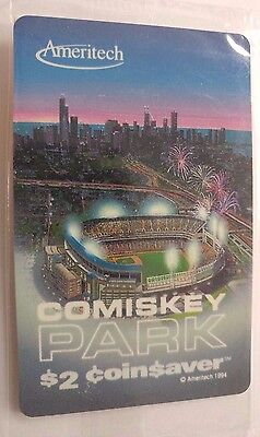 Comiskey Park Chicago Phone Card issued 1994 by Ameritech                    (J)