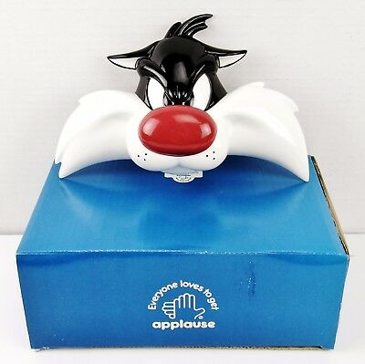 NIB– Very Rare Sylvester Ceramic Wall Mask / Décor #29190 by Looney Tunes (1994)