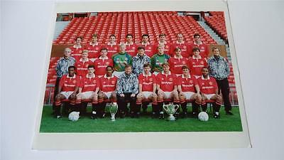 Manchester United Fc 1992-93 Squad Press Or Club Issued Photograph