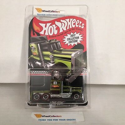 Hot Wheels * Long Gone w/ Real Riders * Toys R Us Mail-In * 2017 Hot Wheels