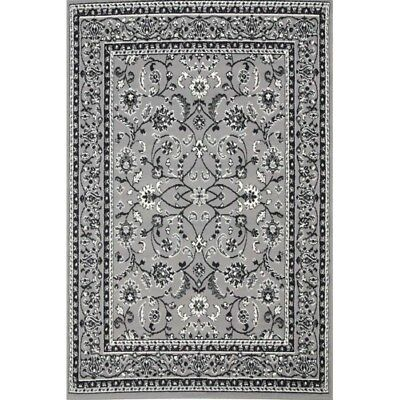 Grey Black Cream Floor Rug Large Traditional Mat Carpet FREE DELIVERY
