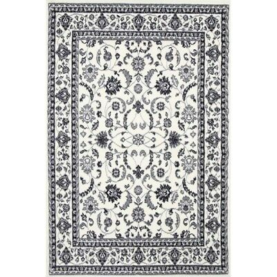 Cream Black grey Floor Rug Large Traditional Mat Carpet FREE DELIVERY
