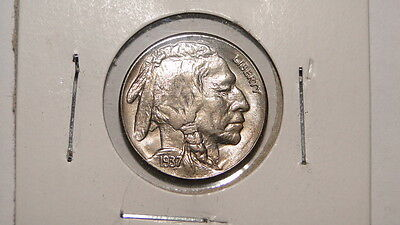 1937-S *SUPER* GEM BU Buffalo Nickel-Blazing Bright Luster & Sharp Strike!!!!