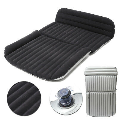 Car Travel Inflatable Mattress Air Bed Flocking Car Bed Chair For Camping Travel