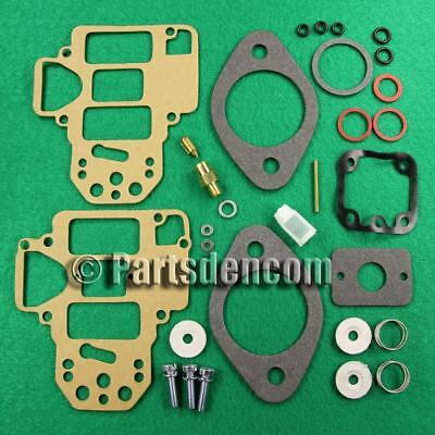 Carburettor Repair Overhaul Major Kit Carby Fits Weber Dcoe 40 42 45 Sidedraft