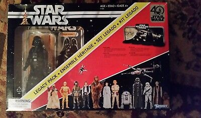 Star Wars The Black Series Darth Vader Legacy Pack 40 year anniversary