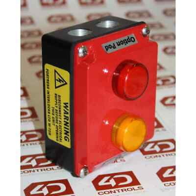 Option Pod Red-Yellow LED Indication Control Box - New Surplus Open - Series A