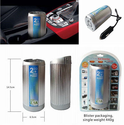 Car Modified Sine Wave Power Inverter with 1.5 Millon Negative Oxygen Ions 150W