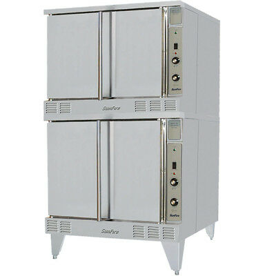 Garland Sunfire SCO-GS-20ESS Gas Energy Star Double Deck Convection Oven