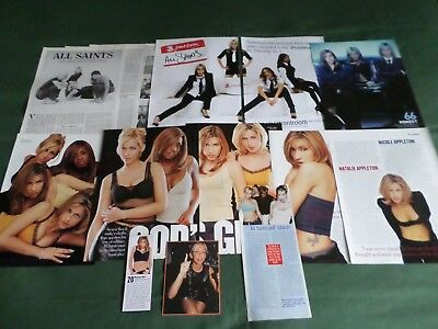 All Saints - Pop Music- Clippings /cuttings Pack