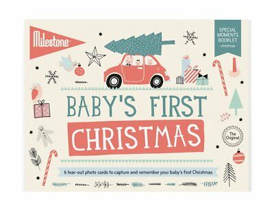 Milestone Baby's First Special Moments - The Original Christmas Milestone Cards