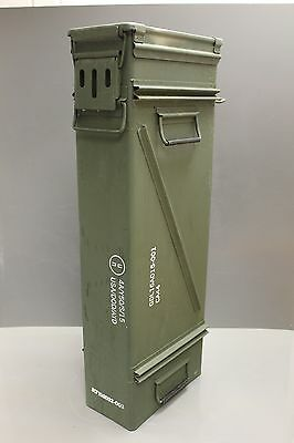 Set of 2 - 120MM Ammo Cans, 2 Cartridge, M783 for Mortars M120/M121 M933A1 Steel