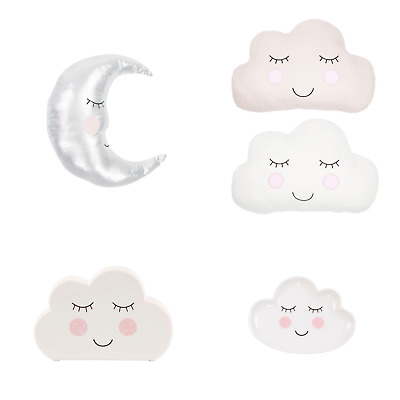 Sweet Dreams Cloud Moon Cushion Money Box Home Gift Baby Gift Sass & Belle