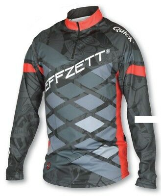 EFFZETT Tournament Shirt M-XXL UV 50+ Sunprotect Langarm Wettkampf T-Shirt